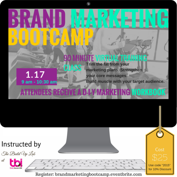 Build your marketing plans with purpose this year with The Build Up Lab as your partner!