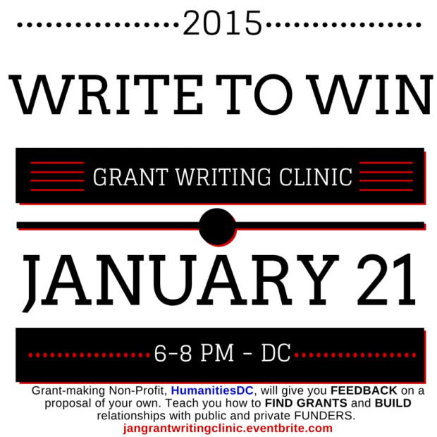Click to Register for January Grant Writing Clinic